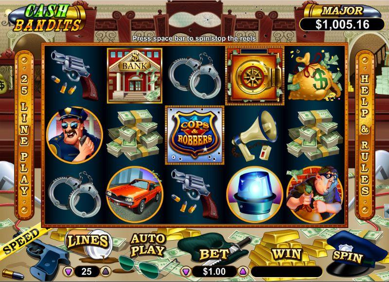 Cash Bandits- The New Way To Slot Gamble